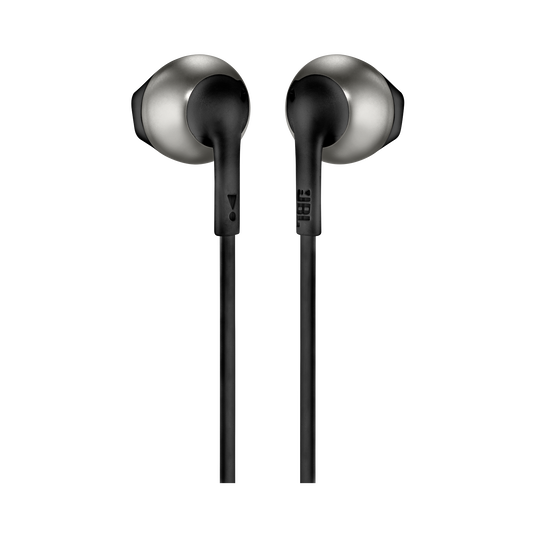 JBL TUNE 205 - Black - Earbud headphones - Back