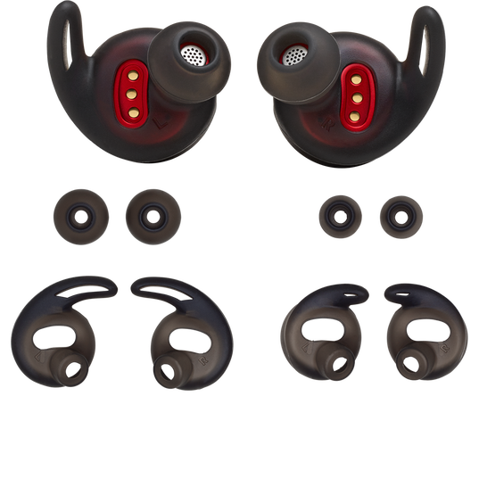 JBL REFLECT FLOW replacement kit - Black - Ear buds, ear tips and enhancers - Hero