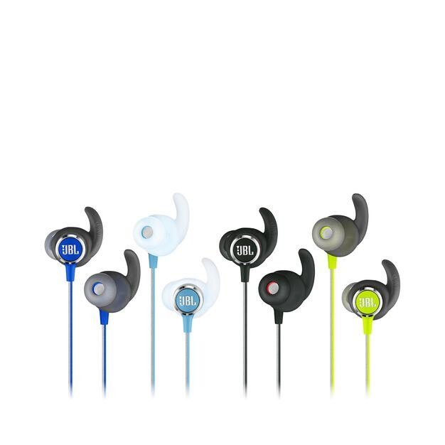 JBL REFLECT MINI 2 - Black - Lightweight Wireless Sport Headphones - Detailshot 3