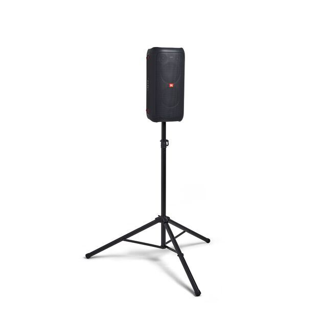 China:- - Black - Powerful portable Bluetooth party speaker with dynamic light show - Detailshot 3