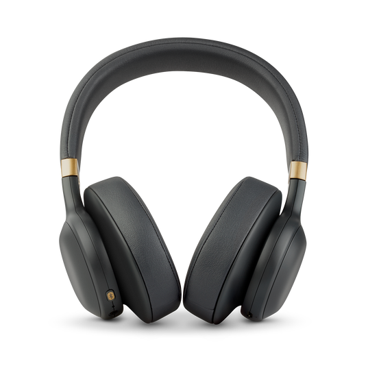 JBL E55BT Quincy Edition - Space Gray - Wireless over-ear headphones with Quincy's signature sound. - Front