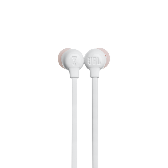 JBL TUNE 115BT - White - Wireless In-Ear headphones - Detailshot 1