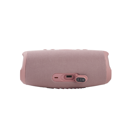 JBL CHARGE 5 - Pink - Portable Waterproof Speaker with Powerbank - Detailshot 1
