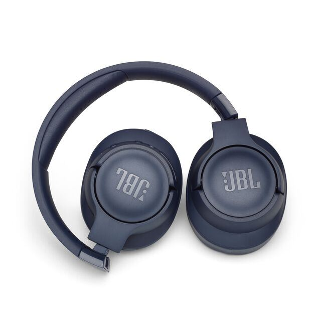 JBL TUNE 750BTNC - Blue - Wireless Over-Ear ANC Headphones - Detailshot 1
