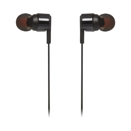 JBL TUNE 210 - Black - In-ear headphones - Detailshot 1