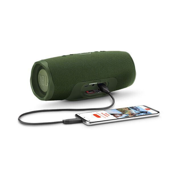 JBL Charge 4 - Forest Green - Portable Bluetooth speaker - Detailshot 4