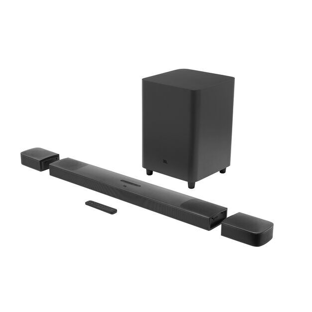 JBL BAR 9.1 True Wireless Surround with Dolby Atmos® - Black - Hero