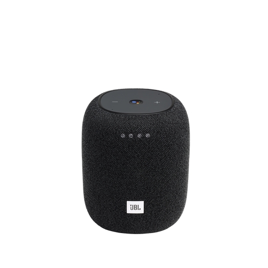 JBL Link Music - Black - Wi-Fi speaker - Hero