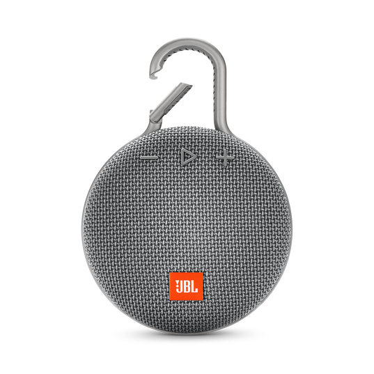 JBL CLIP 3 - Stone Grey - Portable Bluetooth® speaker - Front