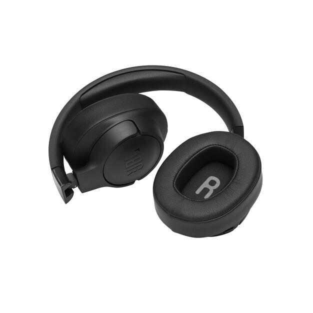 JBL TUNE 700BT - Black - Wireless Over-Ear Headphones - Detailshot 2