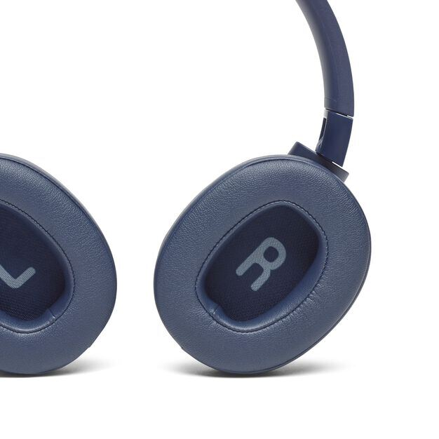 JBL TUNE 750BTNC - Blue - Wireless Over-Ear ANC Headphones - Detailshot 4