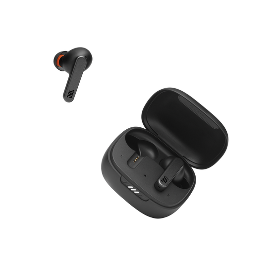 Live Pro+ TWS - Black - True Wireless In-Ear NC Headphones - Detailshot 2