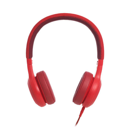 E35 - Red - On-ear headphones - Detailshot 2