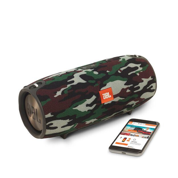 JBL Xtreme Special Edition - Squad - Splashproof portable speaker with ultra-powerful performance - Detailshot 1