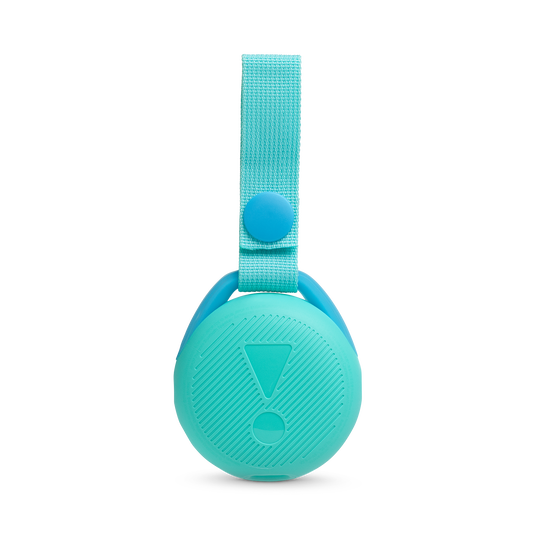 JBL JR POP - Aqua Teal - Portable speaker for kids - Back